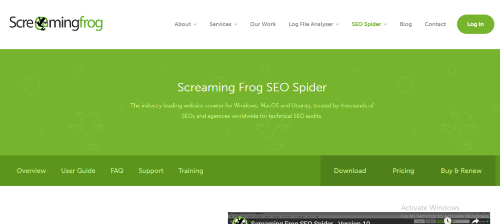 screaming frog | netilly blog