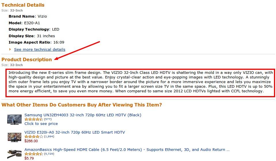 Amazon seo product