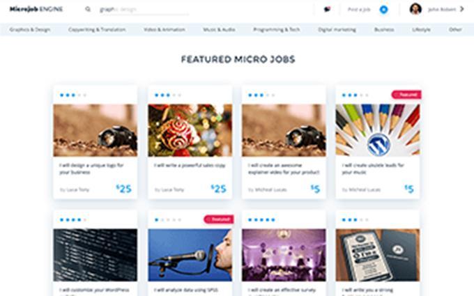 microjob engine theme