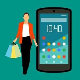 Mobile e-commerce store