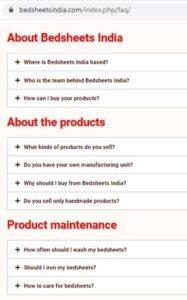 e-commerce shopping description