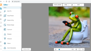 Crop and resize Images